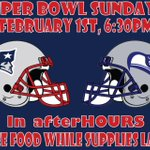 Looking for a place to watch the #SuperBowl? @NUafterHOURS will be screening the game! #SuperBowlXLIX #GoPats ???? http://t.co/lCeQskYimB