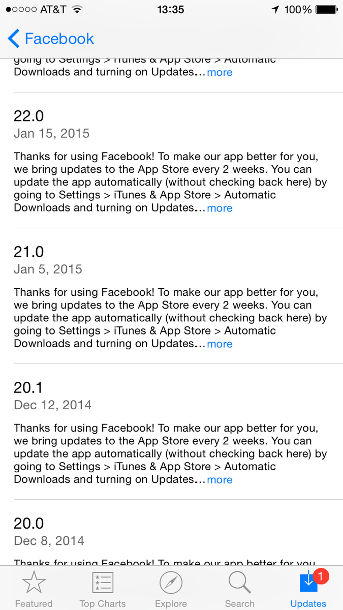 Facebook's App Store version history is hilarious. http://t.co/vF1YhGtoqh