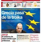 """@elperiodico: ""Grecia pasa de la troika"", en la #portadaEPC http://t.co/t2YGlIfmoL http://t.co/Zc0x6oG0iK"""