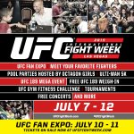 Tickets to @UFCFanExpo on sale now! Get all the details about @UFCFightWeek here: http://t.co/U9SJTRkrAD http://t.co/rU5bZ2O3Kd