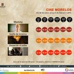 Del 30 de enero al 5 de febrero disfruta de la cartelera que el #CineMorelos tiene para ti | #Cuernavaca #Morelos http://t.co/3Y0Vefy2Ma