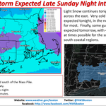 Please RT! Here we go again, Winter Storm Watches for a storm coming Sunday Night - Monday: http://t.co/XZJti3dQeL