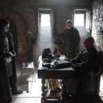 Kit Harington as Jon Snow, Stephen Dillane as Stannis Baratheon & @liamcunningham1 as Davos Seaworth in #GoTSeason5 http://t.co/oGxNT2oO8M
