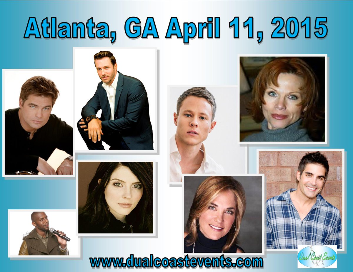 """Spend the day with 7 amazing actors from """"Days of Our Lives"""" on April 11, 2015 in Atlanta, GA.https://t.co/6Mpc3CTZPJ http://t.co/15r7tT8LCQ"""