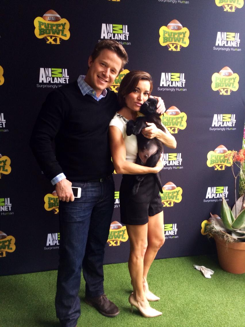I LOVE puppy breath! Who's with me?? Thanks for bringing the cuteness @animalplanet. #access #puppybowl http://t.co/Wftud7hvy3