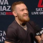 VIDEO: @TheNotoriousMMA was on top form for his Q&A session and made his title fight official! http://t.co/hH1URCE9rP http://t.co/aRHiUINcGp
