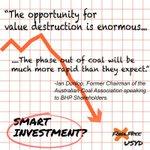 Coal is history! Queensland vote for a sustainable future. #putLNPlast #Qldpol #Qldvotes #Auspol #Divest http://t.co/ObuhvVEzoC