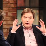He wore his pink telly shirt, @boshea5 in fine form #latelate http://t.co/jHEFXsu4iO