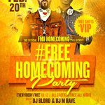 #FMUHOMECOMING2K15 #FMU #FLORENCE #THELINEUP http://t.co/7NJuBBiAiR