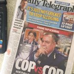 Australia play South Korea in Asian Cup final today and no mention on front page of Sydneys Daily Telegraph #AC2015 http://t.co/wiD5XYhBRJ