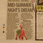 Conor McGregor title bout confirmed for July11but readers of my column in @IrishStarSport got a heads-up this morning http://t.co/89LMsKT0jF