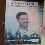 .@AamAadmiParty to release manifesto today. Will @BJPDelhiState counter it in @narendramodi rally. @ZeeNews http://t.co/zO5RF7VKCT