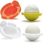 【なにこれ欲しい】 ゴルフボールの形をしたキュートなゆで卵 http://t.co/BlCvsV3BZS これがあるだけで食卓が楽しくなりそうですね。 http://t.co/LBN2223VJ6