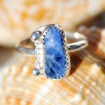 Beautiful Blue #Sodalite #Ring Set In Sterling #Silver http://t.co/18Jb4YpDHD perfect #Holiday #Gift #Jewelry http://t.co/9D1CVu62rT