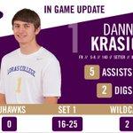 .@dannykrasich added five assists in Set 2. // #LORvsCSC #d3mvb http://t.co/CBOpgQh2c5