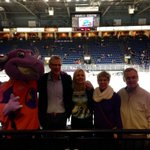 YSU Night at the Covelli Centre for Youngstown Phantoms hockey. Watching at least 6 future NHL stars. http://t.co/c8Pq2XfkKL