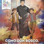 ¡Feliz día de #DonBosco! ¡Déjanos, Juan Bosco, llamarte Padre una vez más!  ¡Gracias Padre y Maestro de la Juventud! http://t.co/L2je51ksPl