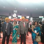 The @rotary #Mumbai DG RI 3140 #wowdiscon leads the March Past http://t.co/6gXcXKRUNk