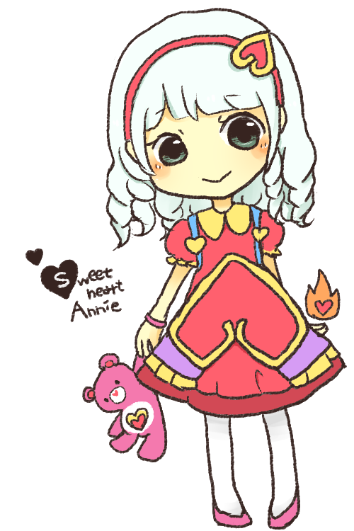 Sweetheart Annie!You wanna play too? It'll be fun! #LOL #LeagueofLegends http://t.co/DuSr7KGqXK