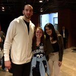 .@kostakoufos & @leiasergakis are such kind, wonderful souls! So proud to have them in #GrizzNation!@hannahmeacham17 http://t.co/bqXpMmDpam