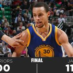FINAL: Jazz 110 - Warriors 100 http://t.co/oluo3UaZme
