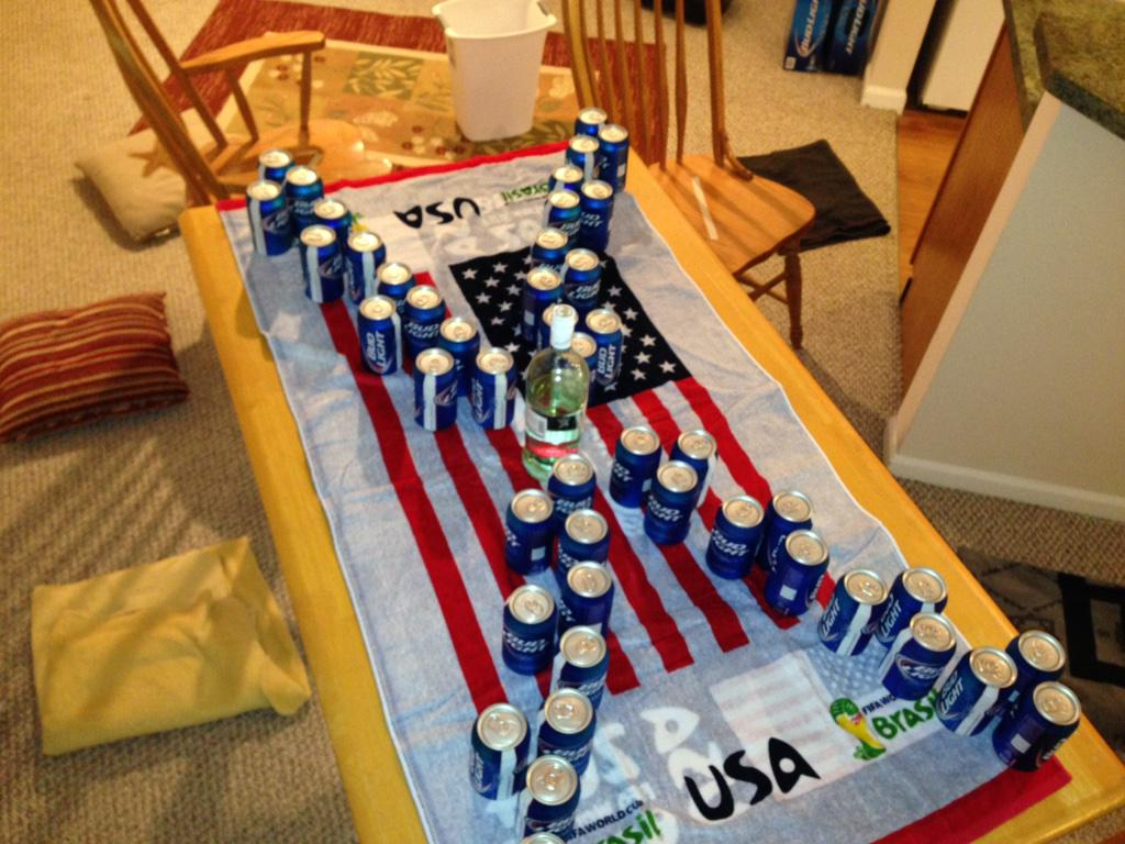 How to play new girls true american drinking game the castle is made up of beer pawns and the king a bottle filled with the alcohol of your choice solutioingenieria Gallery