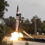 Agni 5, Indias Longest Range Ballistic Missile, Successfully Test-Fired. (File pic) http://t.co/Vgvcy05b68