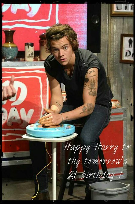 Happy Harry to thy tomorrow\s 21 birthday ! That was a celebration !