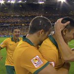 What a rocket from Massimo Luongo! Australia lead South Korea 1-0 at HT in #AsianCup2015 final http://t.co/pl1zWdMcU2 http://t.co/VcSPq85XZg