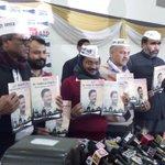 #AAPKaManifesto ~ Vision 4 Delhi BJP Manifesto ~ AK Coughs Wears Muffler Naxal AK49 Bhagoda Bakwaas Swaal Blah Blah http://t.co/VRmHcf07yq