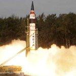 Agni-5 successfully test-fired http://t.co/DAQ9mC843p http://t.co/U1bVuGbISF