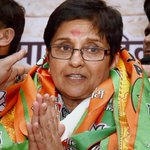 Delhi polls: BJP CM nominee Kiran Bedi missing from posters! http://t.co/L8hqhs7rmH http://t.co/1ySuiLdfra