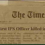 Oh my God...1st woman IPS was Ms Sujit Kaur (1956) not 👉 @thekiranbedi... y do ppl LIE so much?  http://t.co/1W0gIdNCF9  #AAPKaManifesto