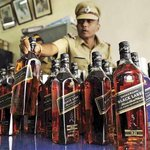 Liquor Bottles seized from AAP election office in Delhi. Arvind Aatangwadi Party or Arvind Nautanki Party?? http://t.co/avM1NeIr3s