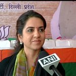 They talk of women security? Their own ministers disrespect women: Shaina NC (BJP) on AAP manifesto http://t.co/2W2eKygX6i