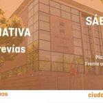 Buenos días. Hoy, Sábado, puntos informativos en Entrevías y Usera. #CsEntrevías #CsUsera #Madrid #Somostuvoz http://t.co/NlIYSWcepp