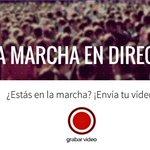 ¿Estarás en la marcha de @ahorapodemos? Envíanos tu vídeo con esta herramienta #31E http://t.co/JywKQIFajz http://t.co/HB6feGnWCp