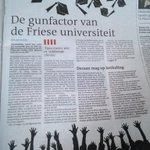 Mooi artikel @lc_nl over hoe universitair onderwijs weer in Fryslan nestelt. Door @Jannewietske en @JoukedeVries JA! http://t.co/irkNRMPnJa