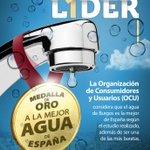 El agua de #Burgos es la mejor de España según el estudio realizado por la #OCU además de ser una de la más baratas. http://t.co/UfFYYhHNJ4
