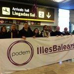 Pues gentes de Podem Illes Balears ya estamos en Madrid. #EsAhora31E http://t.co/VfY0MPM3kO