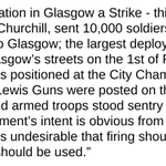 More shocking information about the Battle of George Square, 31st January 1919. http://t.co/qlRhgm6HMT http://t.co/umk8BuSvvf