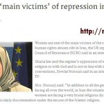 Women are 'main victims' of repression in #Iran. @Ansa_it @Guardian @thetimes @nytimes @Washtimes @Latimes @NBC  http://t.co/pYJYIaaQeZ