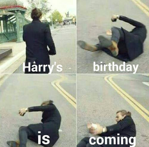 Harry\s debut tomorrow!!!! Happy Birthday :DD