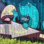 Dragons This Way ➡️#perth #perthstart Neat panel down Freo way by @hosae.3rds http://t.co/GhYlwBacz8
