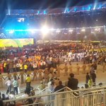 The assembled athletes from 29 states & 9 Union Territories. Hosts Kerala have the largest contingent: 774 athletes http://t.co/CpmCHXqBNM
