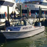 . @TampaPD has officially arrived for the #PirateInvasion @GasparTampa #GASPARILLA2015 #WTSP http://t.co/Bs791KPJ67