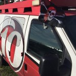Pirate flags flying high over @WTSP10News Live Truck 71 for #GASPARILLA2015 @GasparTampa #WTSP http://t.co/gDsa397NA0
