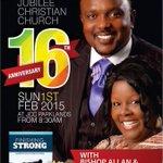 We celebrate @BishopKiuna @RevKathyKiuna n @JccKenya family on ur 16th anniversary .. More grace! @Anselmapostle http://t.co/iV5tbUffl8