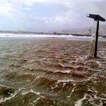 El temporal en Almería nos deja increíbles imágenes como esta.. http://t.co/xZ1dSvycda