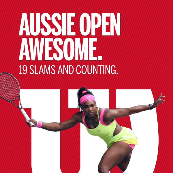 Domination down under. 19 Grand Slams and counting. @serenawilliams #Legendary #AustralianOpen http://t.co/ScTERshL8w